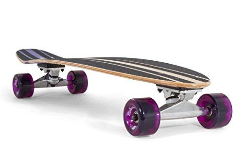 Mindless Voodoo Complete Longboard Raider II Purple Kicktail professional longboard 34 x 8 inch