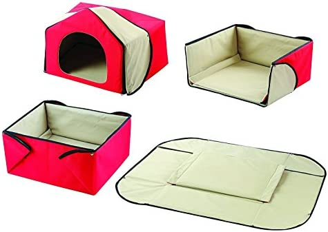 Convertible 4 In 1 Pet Bed House