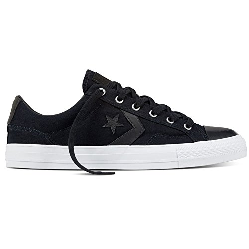 Converse Mens Star Player Ox Midnight Navy Canvas Trainers 8 US