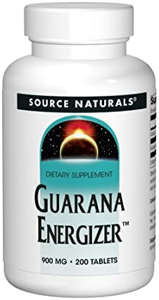 Source Naturals – Guarana Energizer, 1200 mg