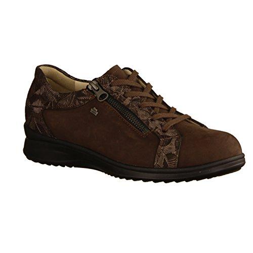 Marrón Comfort de Mujer para Zapatos Cordones Finn RqB1YY