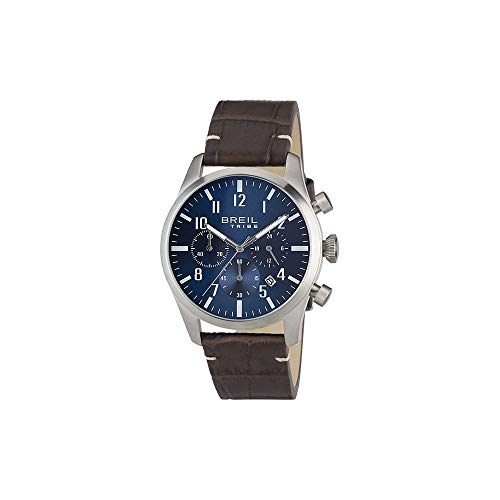 BREIL Watch Tribe Classic Elegance Male Chronograph Leather Brown - EW0229