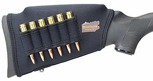 - Beartooth Comb Raising Kit 2.0 - Neoprene Gun Stock Sleeve + (5) Hi-density Foam Inserts - RIFLE MODEL (Black)