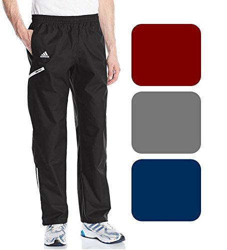 adidas Mens Team Sports woven Pant, black/White, Xx-Large
