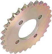 Roda dentada do triciclo, roda dentada de 28 dentes, durável para o proprietário do triciclo Triciclo de uso p