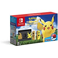 Nintendo Switch Console Bundle: Pikachu & Eevee Edition with Pokemon: Let's Go, Pikachu! + Poke Ball Plus