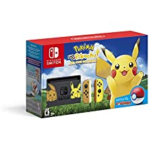 Pikachu & Eevee Edition with Pokemon: Let's Go, Pikachu! + Poke Ball Plus - Nintendo Switch