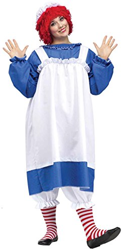 Raggedy Ann Women's Plus Size Costume -