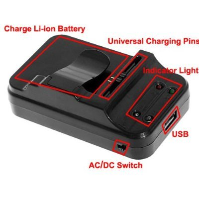 Universal Mobile Battery Charger - Transparent and Blue: Buy Online at Best  Prices in Bangladesh | Daraz.com.bd | 400x400