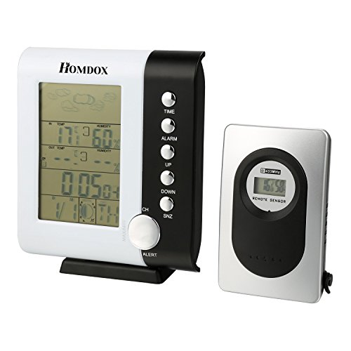homdox-wireless-weather-station-clock-indoor-outdoor-weather-forecaster-station-thermometer-humidity