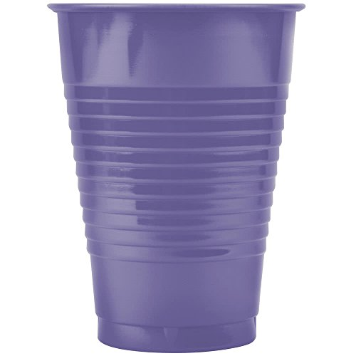 28115071 12 oz. Purple Plastic Cup - 240/Case By TableTop King