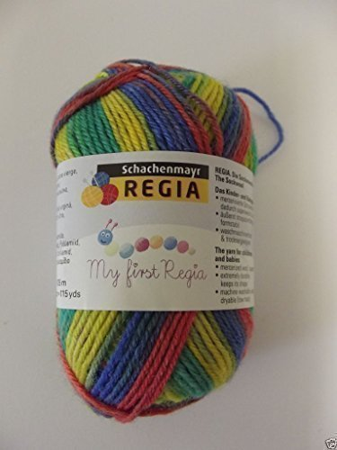 My First Regia BABY 4 Ply Hilo / Lana para Tejer Calcetines 25g - Tomas 1892