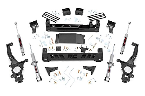 rough country lift kit frontier - 4