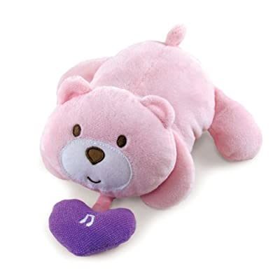 Pink Bear Musical Pull Down Toy : Baby