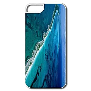 IPhone 5 Covers, New Providence Islands Cases For IPhone 5S - White Hard Plastic