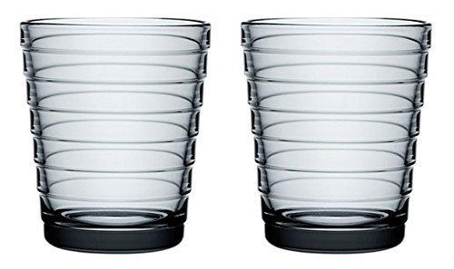 Iittala Aino Aalto 22cl Set of 2 Glass Tumblers by Iitala