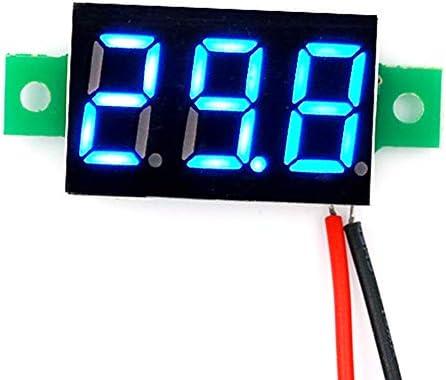 0.36inch DC 2.50-30V LED Panel Voltage Meter 2 Wires 3-Digit