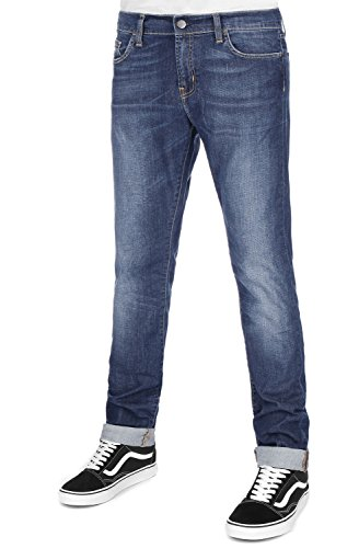 Carhartt Blue Washed Homme Bleu Strand Pantalon rCxq6pr