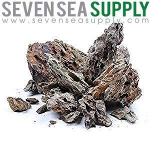 SevenSeaSupply 20 lbs. Ohko Dragon Stone Rock Mixed Sizes 13