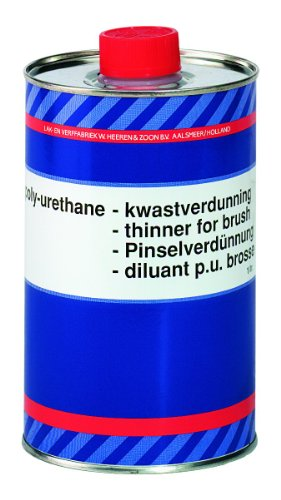 Epifanes Polyurethane Thinner for Brush (1000 ml) by Epifanes