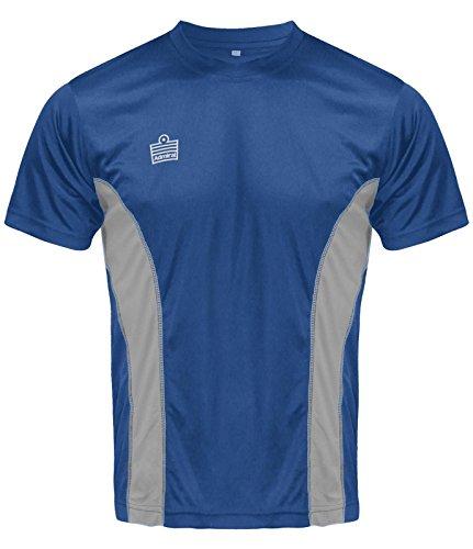 Admiral Titan Soccer Training Shirt, Royal/Silver, Youth Large