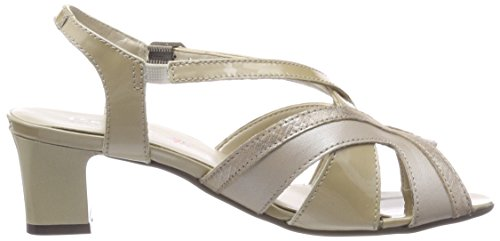 Con Tobillo Para De Zapatos stone Beige Tira Prl Padders Mujer Charm fCxSqwEE