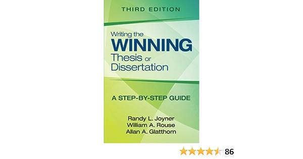 Writing the winning thesis or dissertation dissertation design