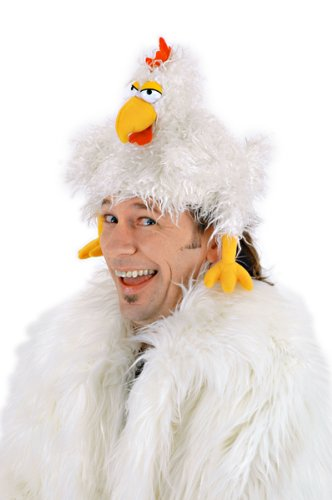 Chicken Hat - The Clucker Puppet Hat (The Clucker Hat)