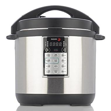 Fagor 670041960 LUX Multi Cooker, 8 quart, Silver