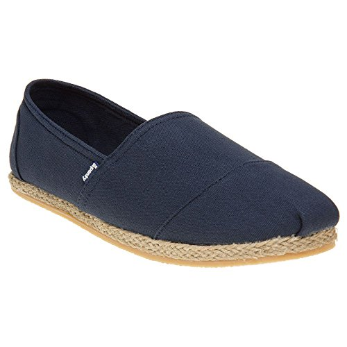 Superdry Jetstream Espadrille - Eclipse Navy (Textile) Mens Trainers 13 US