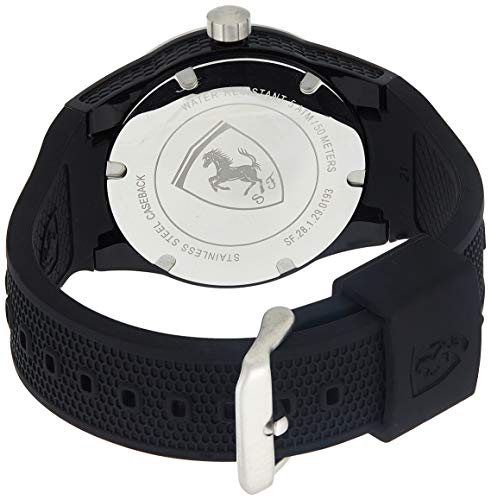 Ferrari 830253 RED REV T Quartz Resin and Silicone Watch