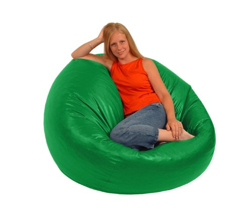 Comfy Bean Beanbag Large Vinyl Lime
