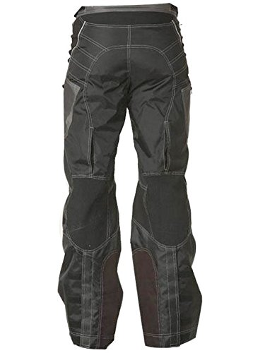 Xelement B4402 Mens Black Advanced Level-3 Tri-Tex Fabric Motorcycle Pants - 42