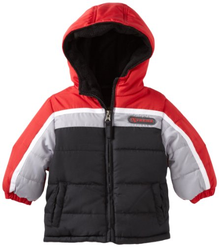 IXtreme Baby Boys' Promo Colorblock Puffer Snowsuit