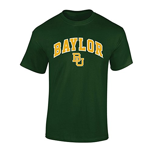 - Elite Fan Shop NCAA Men's Baylor Bears T Shirt Team Color Arch Baylor Bears Green Medium