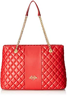 Amazon Com Love Moschino Women S Quilted Tote Chain Strap