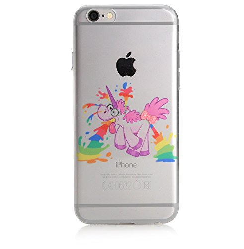 Crazy Unicorn iPhone 6 6s TPU Silikon Bumper Case Schutzhülle - Total Burnout