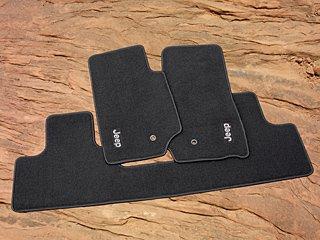 Jeep Wrangler 2 Door Premium Carpeted Floor Mats