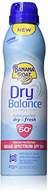 Banana Boat Sunscreen Dry Balance Broad Spectrum Sunscreen Lotion