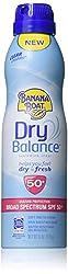 Banana Boat Sunscreen Dry Balance Broad Spectrum Sunscreen Spray, Spf 50+ - 6 Ounce