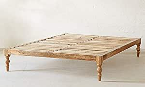A to Z Furniture - Classic Solid Wood Bed Queen without Mattress