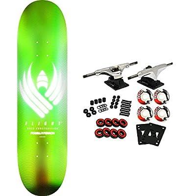 Powell-Peralta Skateboard Complete Flight 02 245 Glow Lime 8.75