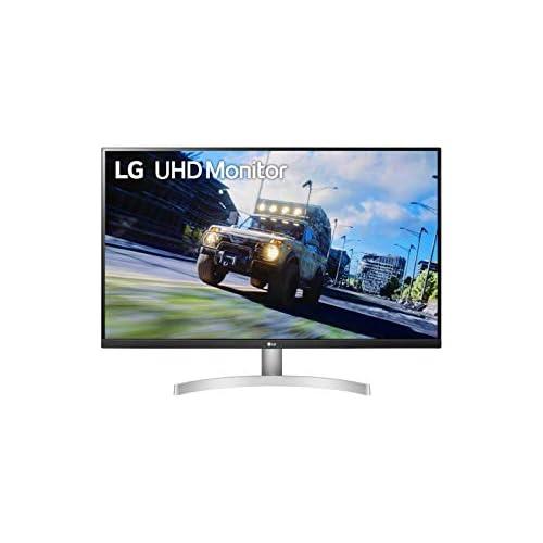 chollos oferta descuentos barato LG 32UN500 W Monitor UHD polivalente Panel VA 3840 x 2160p 16 9 350cd m 3000 1 DCI P3 90 60Hz 4ms diag 80 cm entradas HDMI x2 DP x1 Altavoces 5W Marcos ultrafinos