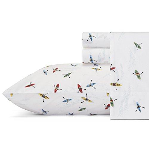 Eddie Bauer Sheet Set, Twin, Kayaks