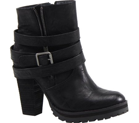 Luichiny Women's Holiday Week Ankle Boot