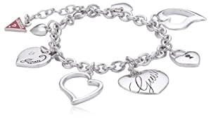 Guess Interlocking Love - Pulsera de latón