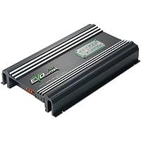 Lanzar Amplifier, 4,000 Watt, SMD Class A/B MOSFET, RCA Input, 5 Channel Amplifier, Amp Power Supply, Bass Boost, Mobile Audio, Amplifier for Car Speakers, Car Electronics, Crossover Network (EV594)