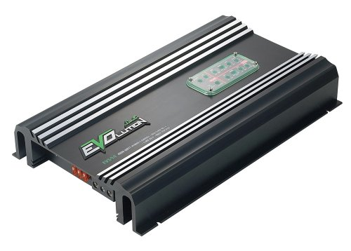 4,000 Watt 5 Channel Amplifier - Amp w/SMD Class A/B MOSFET RCA Input - Mobile Audio Amplifier for Car Speakers w/Bass Boost, Car Electronics, Crossover Network - Lanzar EV594