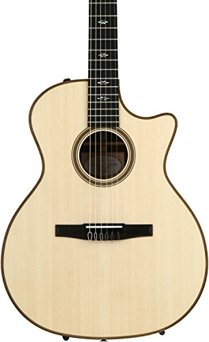 Taylor 714ce-N Nylon-String Grand Auditorium Cutaway - Natural Lutz Spruce Top ()