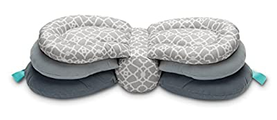Infantino Elevate Adjustable Nursing Pillow, Grey